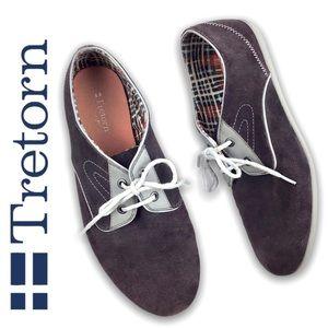 TRETORN   Suede Derby Low Profile Eco Sneakers